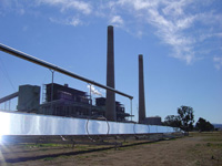 Liddel power station and ausra solar pre heater