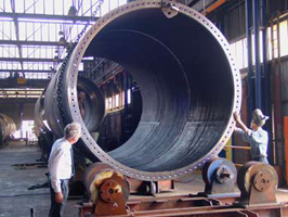 turbine tower manufacture